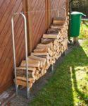 Holzstapelhilfe